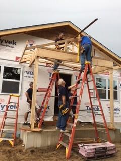 Bishop Build 10-14 Thank You Volunteer's!